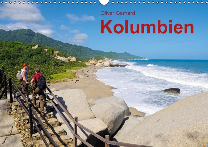 Kolumbien (Wandkalender 2017 DIN A3 quer) - Coverbild