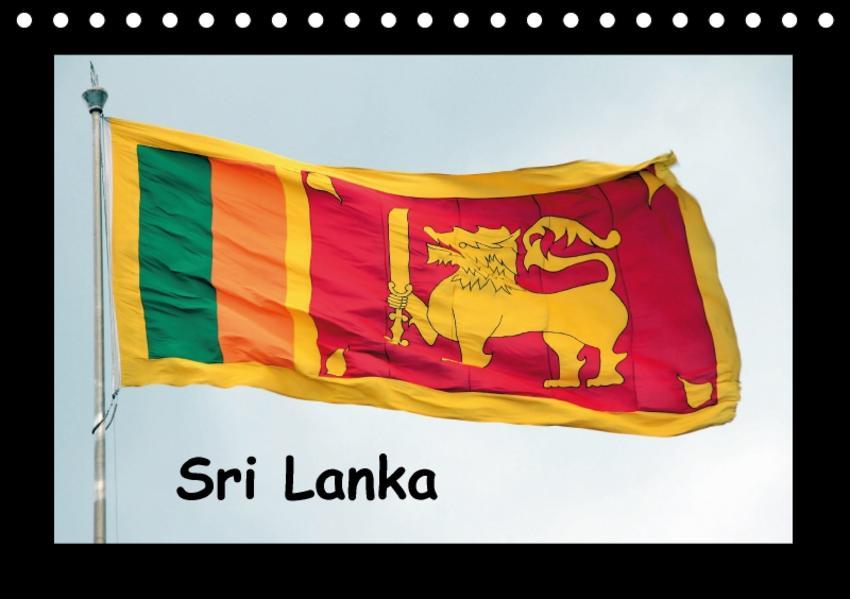 Sri Lanka Impressionen (Tischkalender 2017 DIN A5 quer) - Coverbild