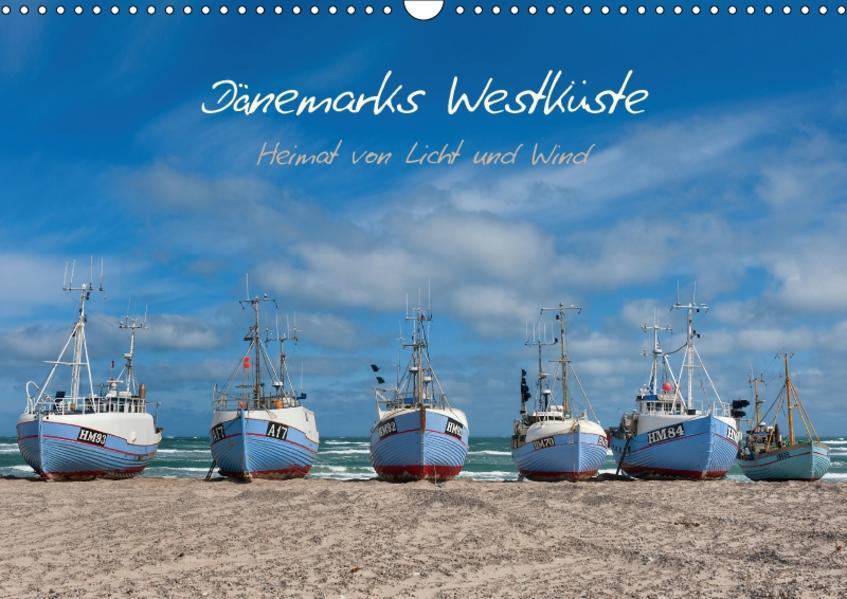 Dänemarks Westküste (Wandkalender 2017 DIN A3 quer) - Coverbild