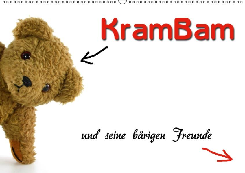 KramBam und seine bärigen Freunde (Wandkalender 2017 DIN A2 quer) - Coverbild