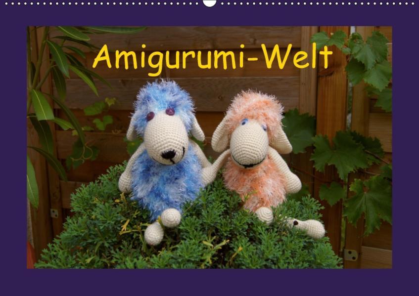 Amigurumi-Welt (Wandkalender 2017 DIN A2 quer) - Coverbild