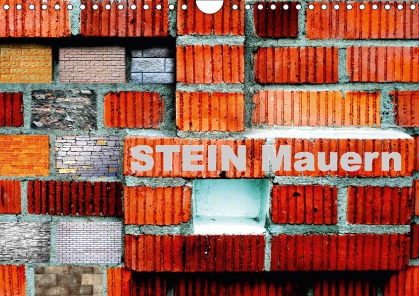 Stein Mauern (Wandkalender 2017 DIN A4 quer) - Coverbild