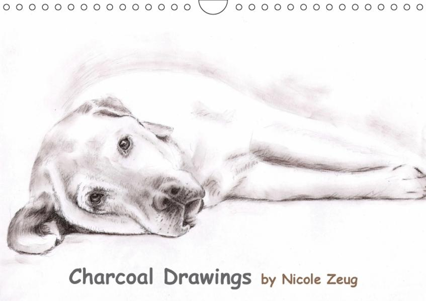Charcoal Drawings (Wandkalender 2017 DIN A4 quer) - Coverbild
