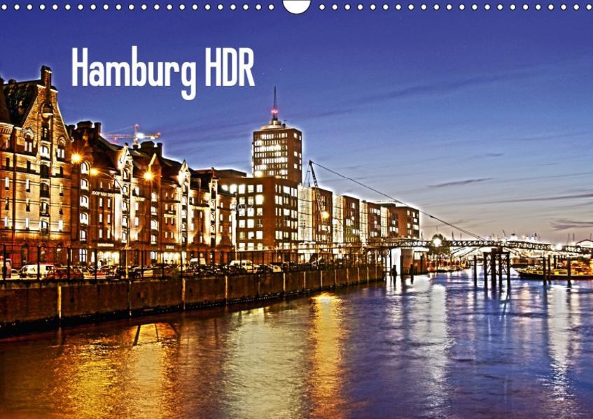 Hamburg HDR (Wandkalender 2017 DIN A3 quer) - Coverbild