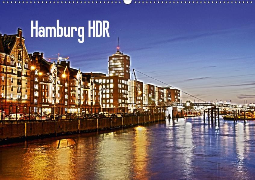 Hamburg HDR (Wandkalender 2017 DIN A2 quer) - Coverbild