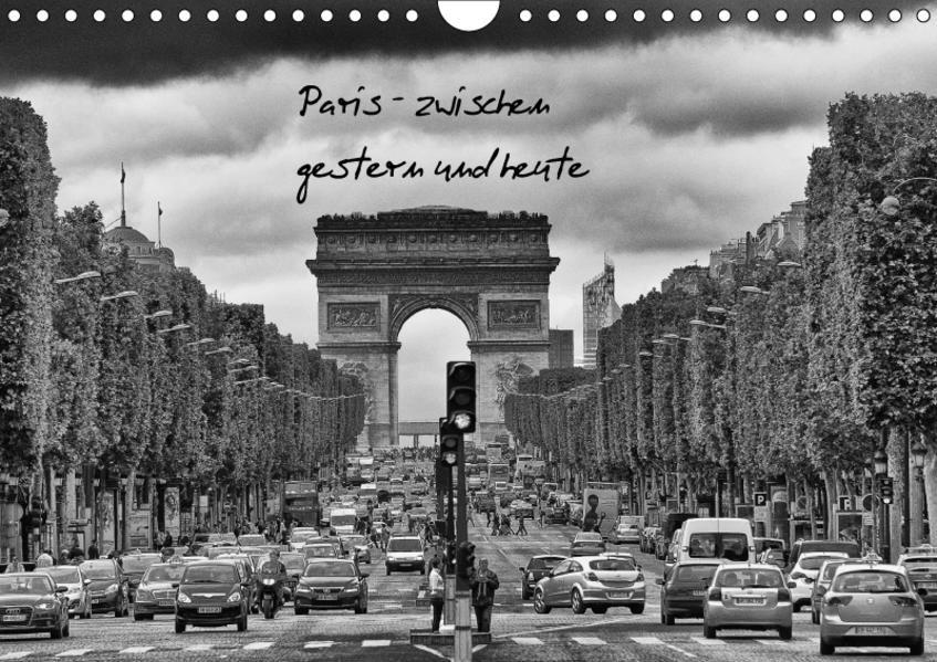 Paris (Wandkalender 2017 DIN A4 quer) - Coverbild