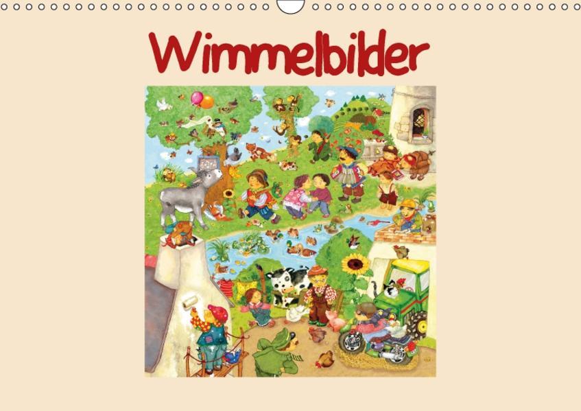 Wimmelbilder (Wandkalender 2017 DIN A3 quer) - Coverbild