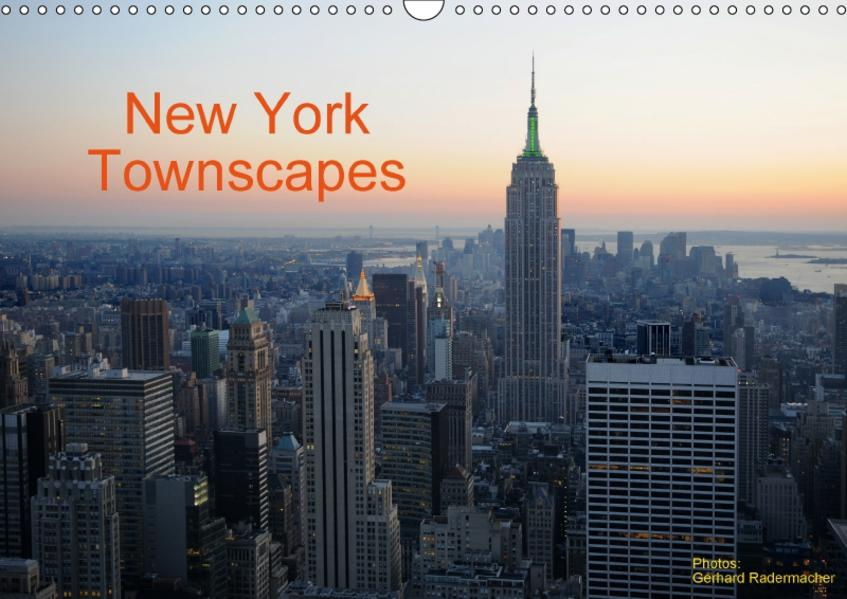 New York Townscapes (Wandkalender 2017 DIN A3 quer) - Coverbild
