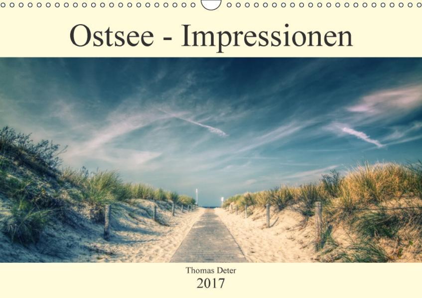 Ostsee - Impressionen (Wandkalender 2017 DIN A3 quer) - Coverbild