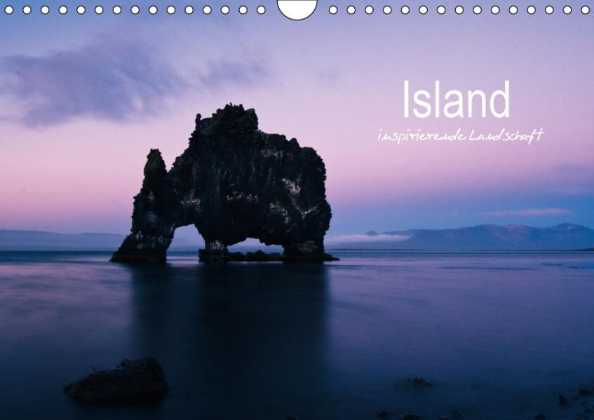 Island - inspirierende Landschaft (Wandkalender 2017 DIN A4 quer) - Coverbild