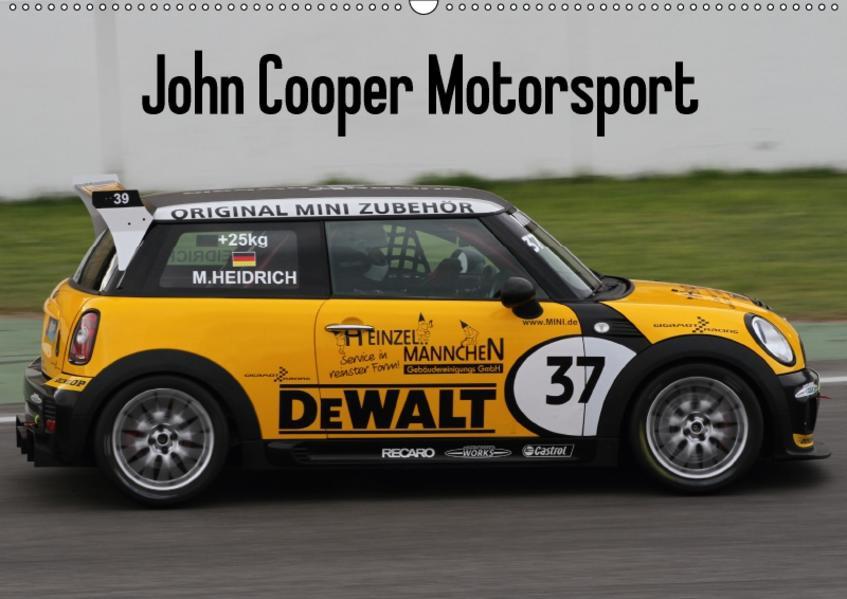 John Cooper Motorsport (Wandkalender 2017 DIN A2 quer) - Coverbild