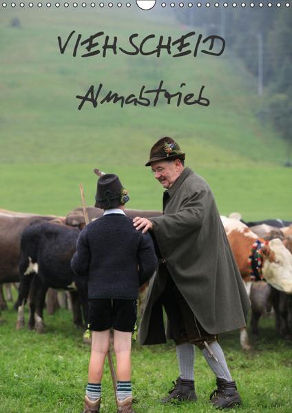 Viehscheid Almabtrieb (Wandkalender 2017 DIN A3 hoch) - Coverbild
