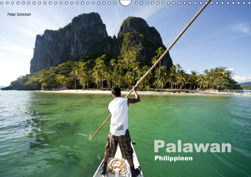Palawan (Wandkalender 2017 DIN A3 quer) - Coverbild