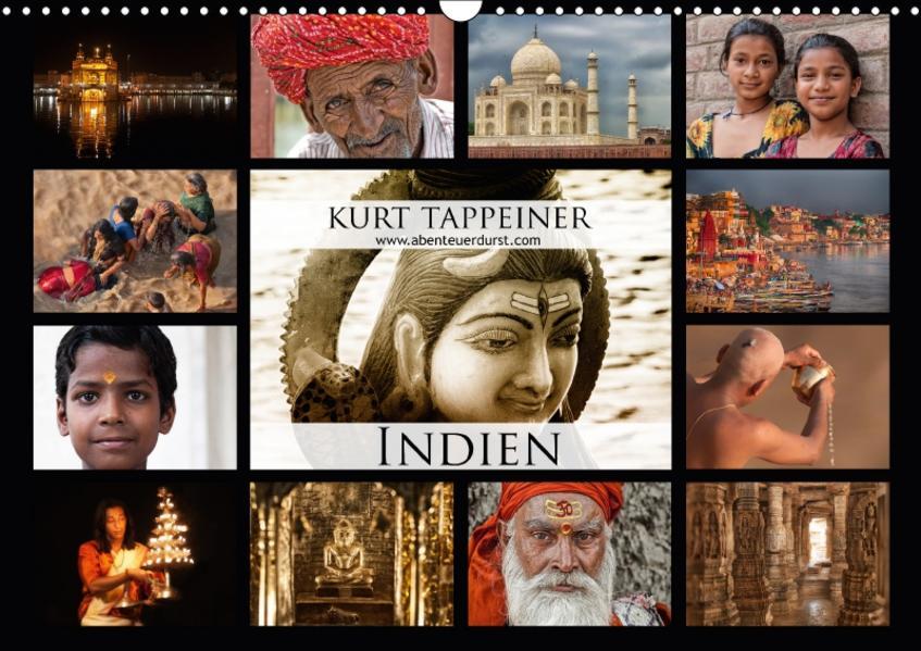 Indien (Wandkalender 2017 DIN A3 quer) - Coverbild