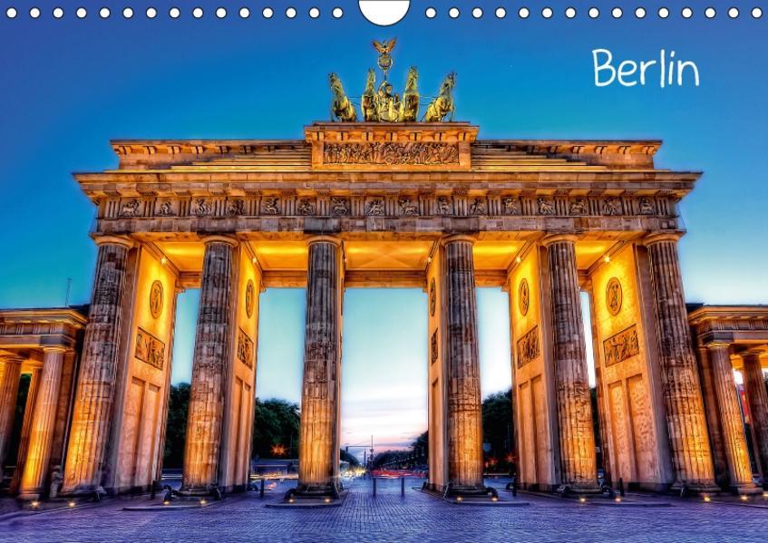 Berlin (Wandkalender 2017 DIN A4 quer) - Coverbild