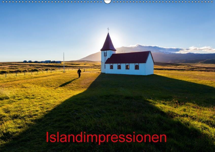 Islandimpressionen (Wandkalender 2017 DIN A2 quer) - Coverbild