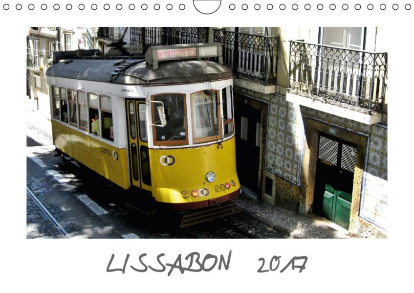 Lissabon (Wandkalender 2017 DIN A4 quer) - Coverbild
