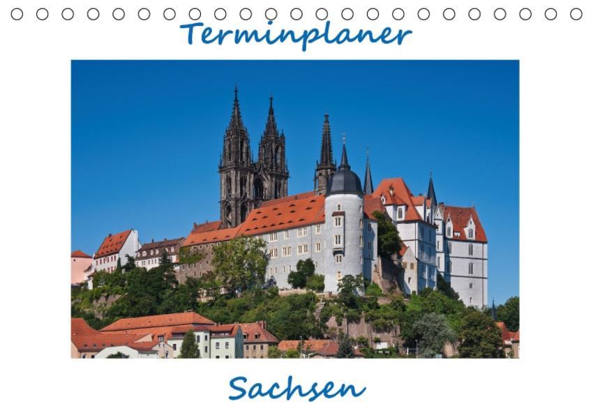 Sachsen, Terminplaner (Tischkalender 2017 DIN A5 quer) - Coverbild