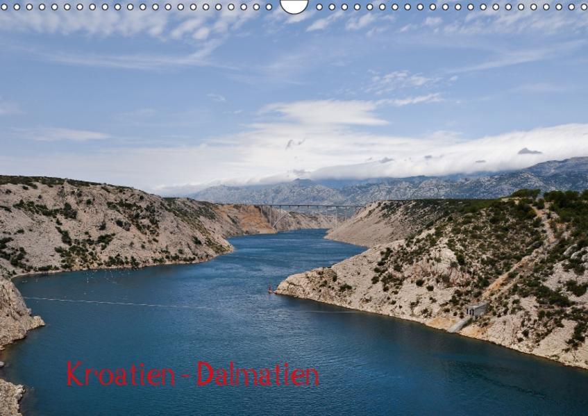 Kroatien - Dalmatien (Wandkalender 2017 DIN A3 quer) - Coverbild