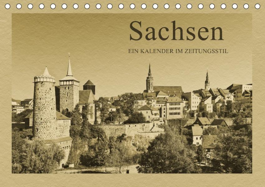 Sachsen (Tischkalender 2017 DIN A5 quer) - Coverbild