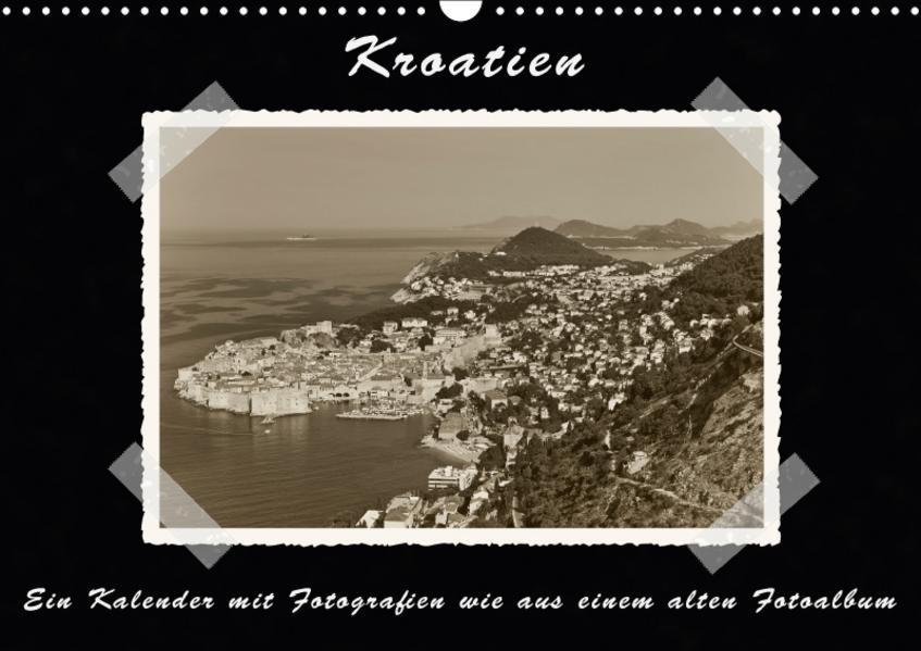 Kroatien (Wandkalender 2017 DIN A3 quer) - Coverbild