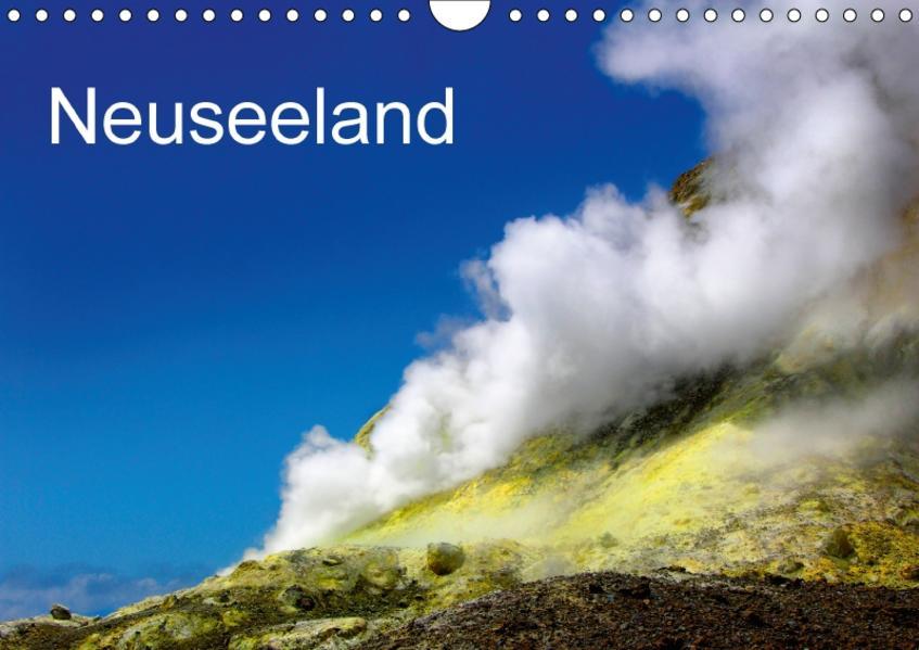 Neuseeland (Wandkalender 2017 DIN A4 quer) - Coverbild