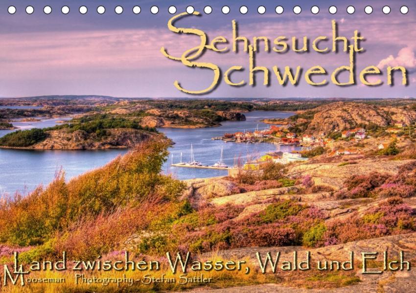 Sehnsucht Schweden - Sverige (Tischkalender 2017 DIN A5 quer) - Coverbild