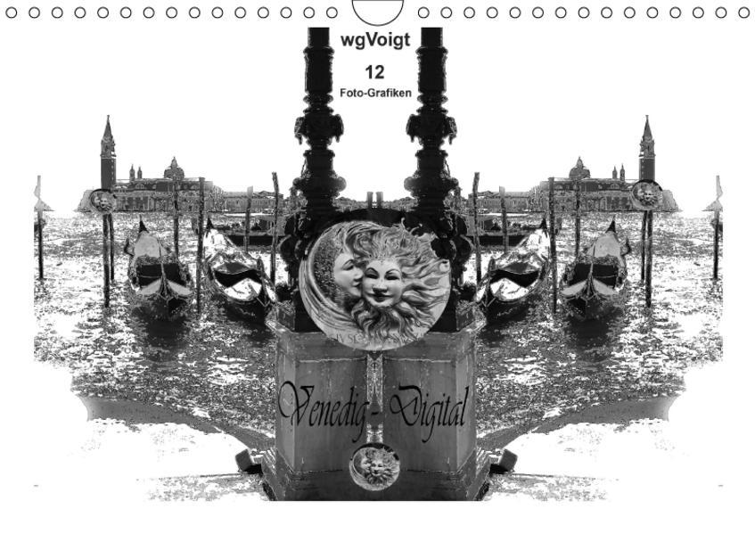 Venedig - Digital (Wandkalender 2017 DIN A4 quer) - Coverbild