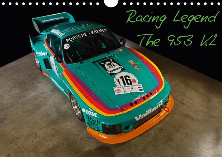 Racing Legend: The Porsche 635 K2 (Wandkalender 2017 DIN A4 quer) - Coverbild