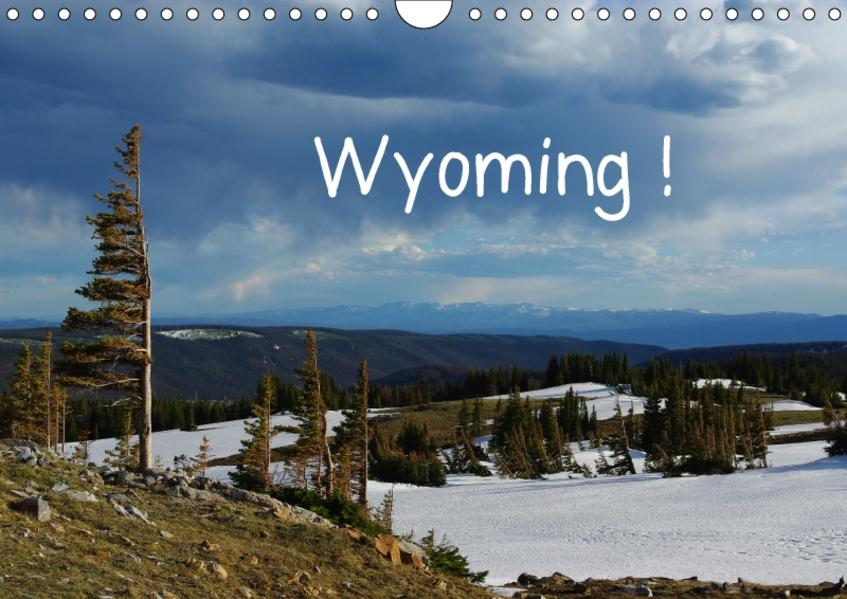 Wyoming! (Wandkalender 2017 DIN A4 quer) - Coverbild