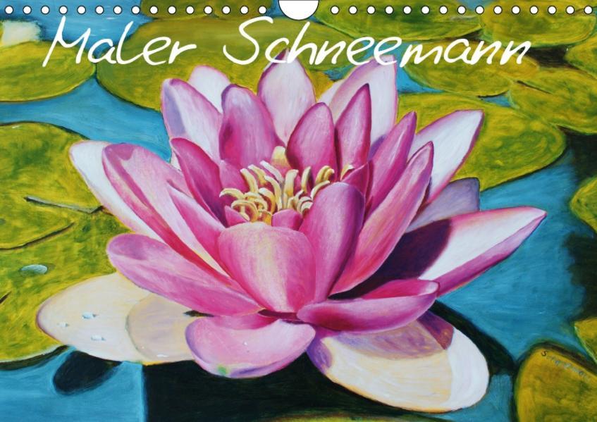 Maler Schneemann (Wandkalender 2017 DIN A4 quer) - Coverbild