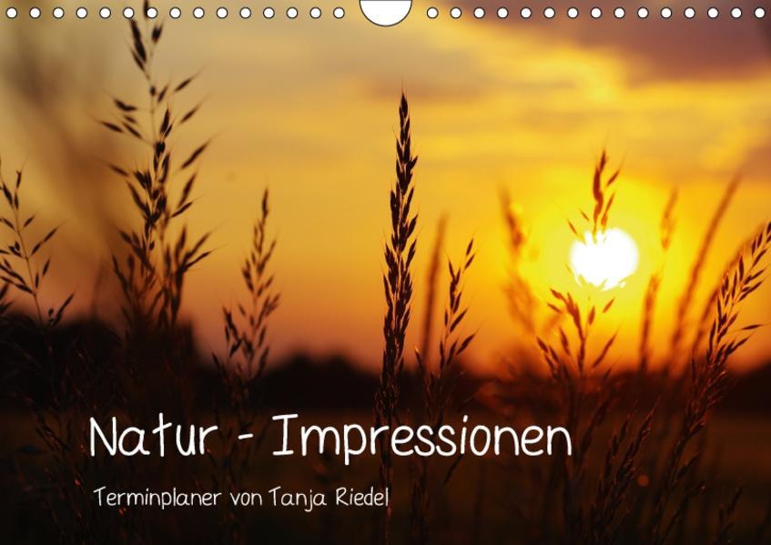 Natur - Impressionen Terminkalender von Tanja Riedel Schweizer KalendariumCH-Version  (Wandkalender 2017 DIN A4 quer) - Coverbild