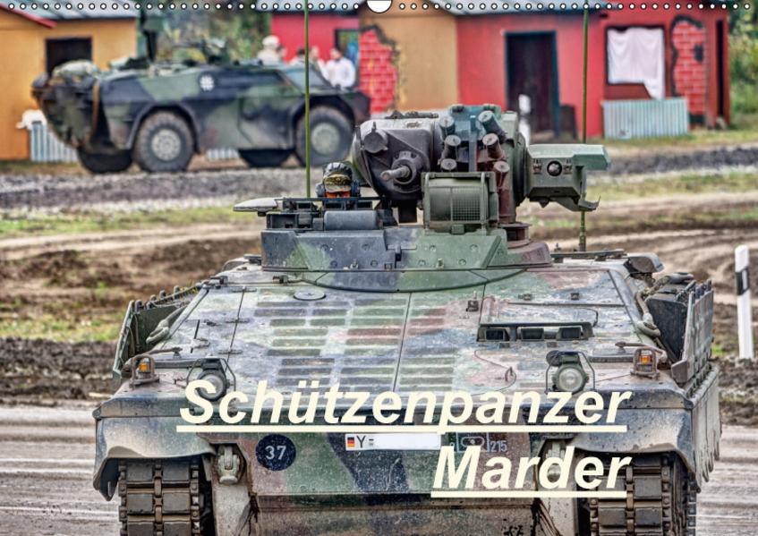 Schützenpanzer Marder (Wandkalender 2017 DIN A2 quer) - Coverbild