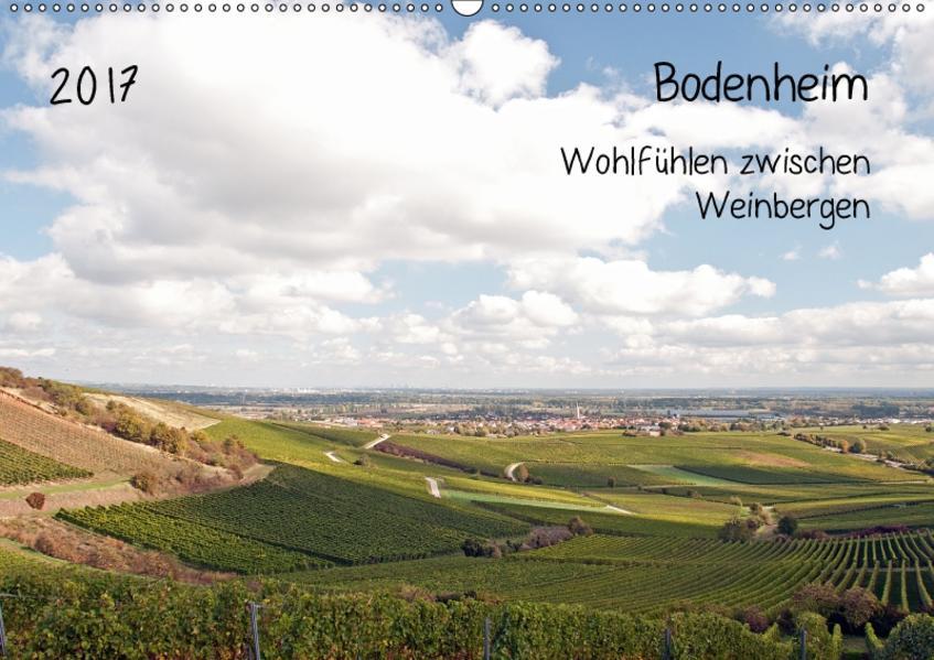 Bodenheim - Wohlfühlen zwischen Weinbergen (Wandkalender 2017 DIN A2 quer) - Coverbild