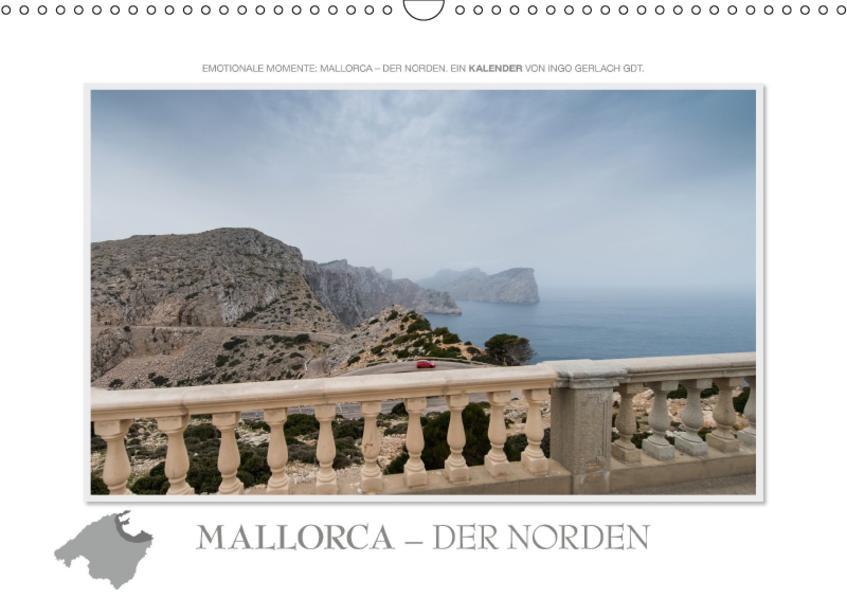Emotionale Momente: Mallorca - der Norden. (Wandkalender 2017 DIN A3 quer) - Coverbild