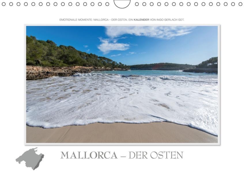 Emotionale Momente: Mallorca - der Osten. (Wandkalender 2017 DIN A4 quer) - Coverbild