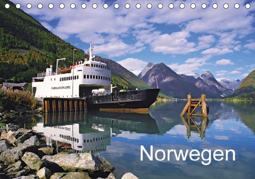 Norwegen (Tischkalender 2017 DIN A5 quer) - Coverbild