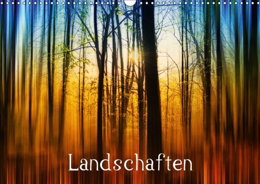 Landschaften (Wandkalender 2017 DIN A3 quer) - Coverbild