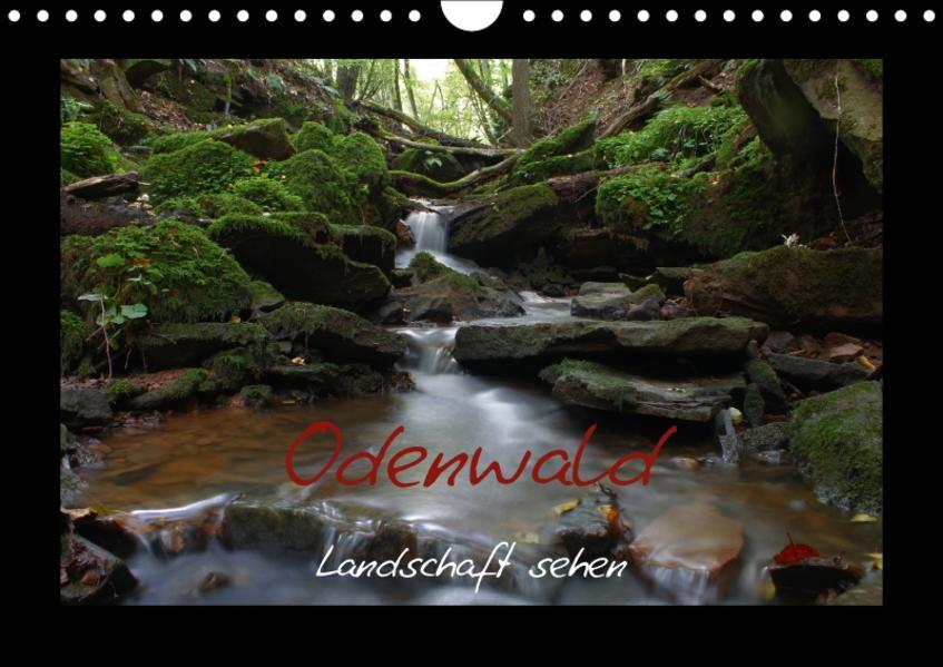 Odenwald - Landschaft sehen (Wandkalender 2017 DIN A4 quer) - Coverbild