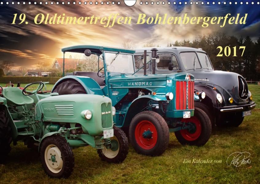 Oldtimertreffen Bohlenbergerfeld (Wandkalender 2017 DIN A3 quer) - Coverbild
