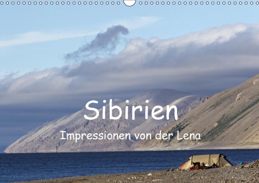 Sibirien- Impressionen von der Lena (Wandkalender 2017 DIN A3 quer) - Coverbild