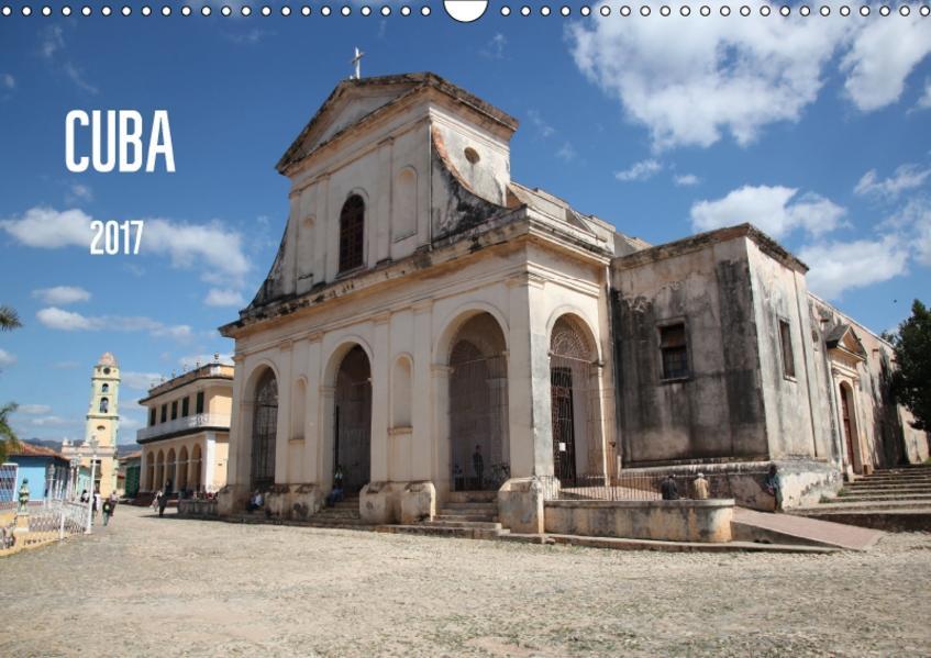 CUBA 2017 (Wandkalender 2017 DIN A3 quer) - Coverbild