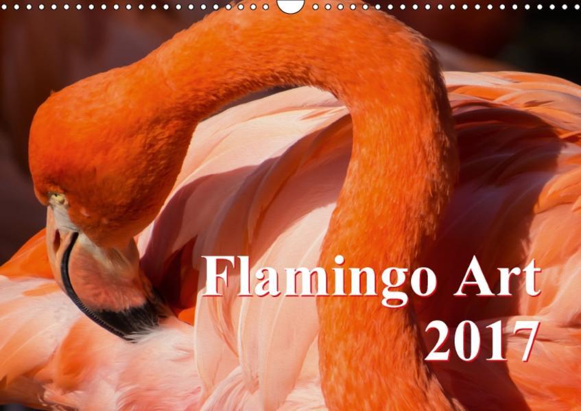 Flamingo Art 2017 (Wandkalender 2017 DIN A3 quer) - Coverbild