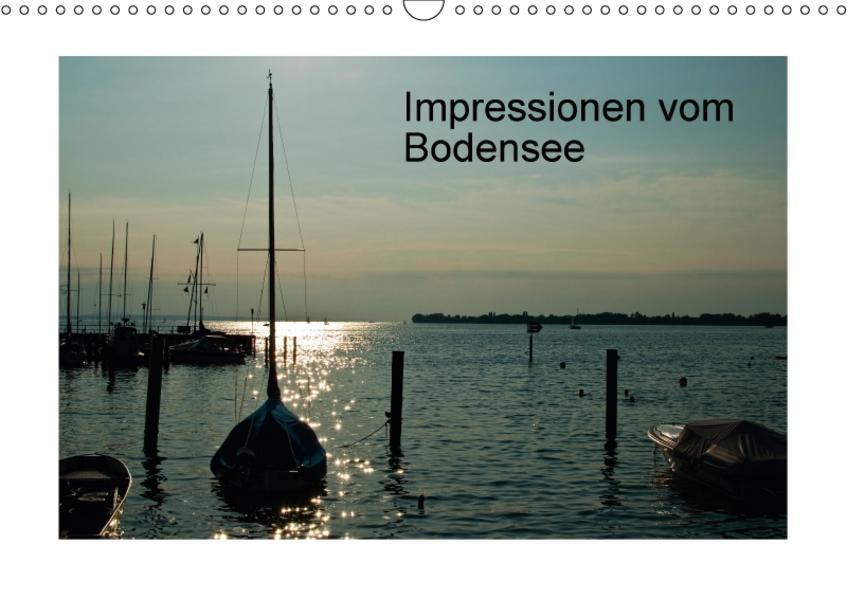 Impressionen vom Bodensee (Wandkalender 2017 DIN A3 quer) - Coverbild