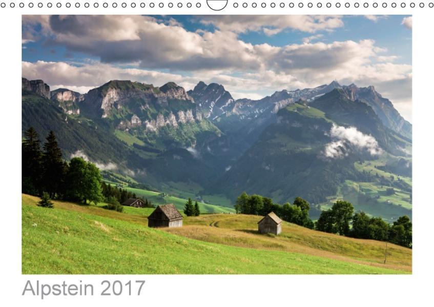 Alpstein 2017 (Wandkalender 2017 DIN A3 quer) - Coverbild