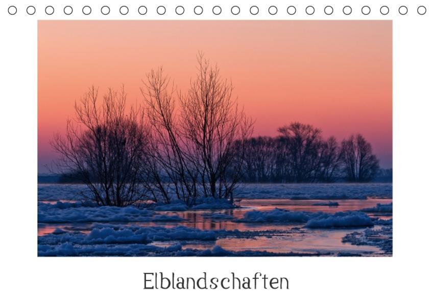 Elblandschaften (Tischkalender 2017 DIN A5 quer) - Coverbild