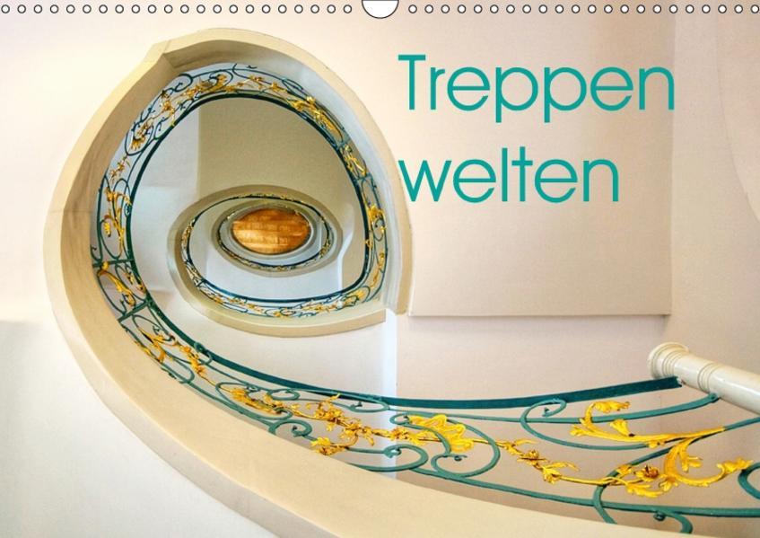 Treppenwelten (Wandkalender 2017 DIN A3 quer) - Coverbild