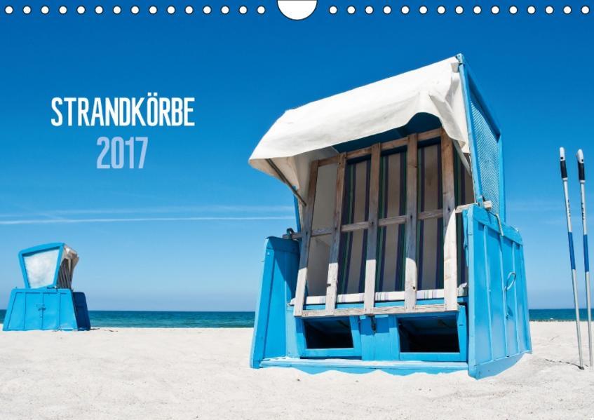 Strandkörbe 2017 (Wandkalender 2017 DIN A4 quer) - Coverbild