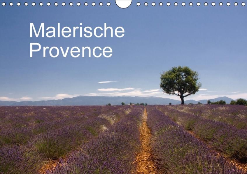 Malerische Provence (Wandkalender 2017 DIN A4 quer) - Coverbild