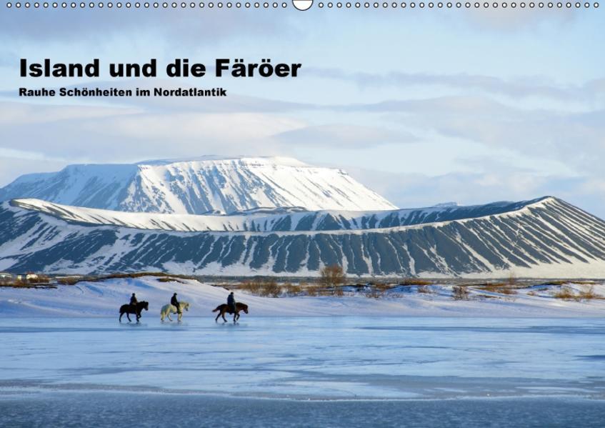 Island und die Färöer (Wandkalender 2017 DIN A2 quer) - Coverbild